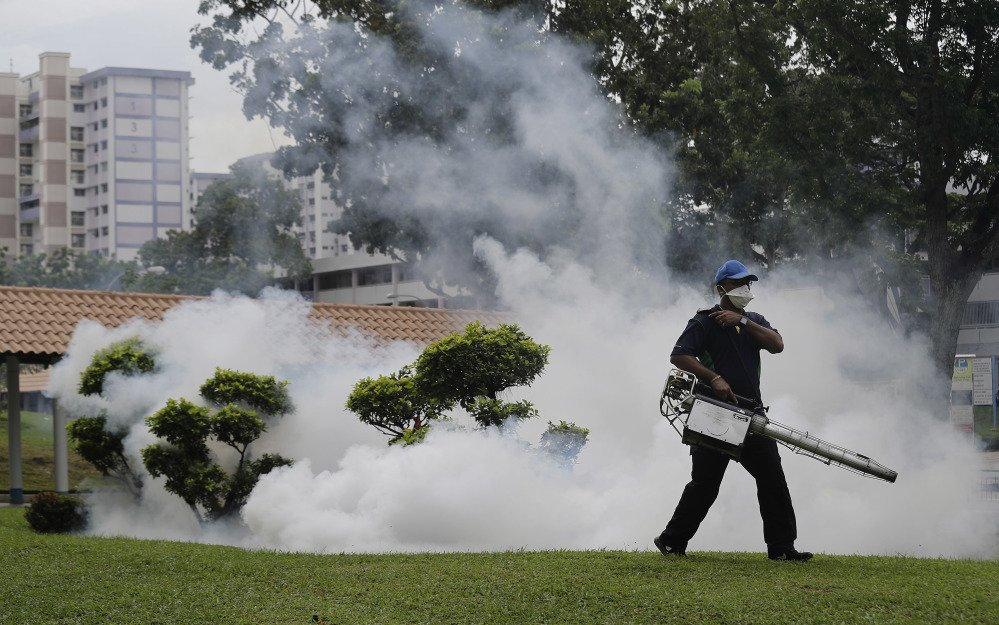 With pest-control workers fumigating areas where Zika infections were reported in Singapore, Indonesia is screening travelers from the city-state for the mosquito-borne virus.