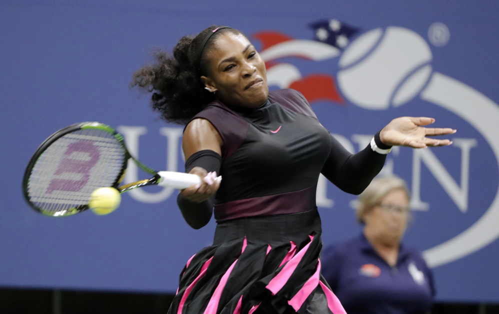 Serena Williams is taking a swing at dancing, having released a YouTube video of her moves on the floor.