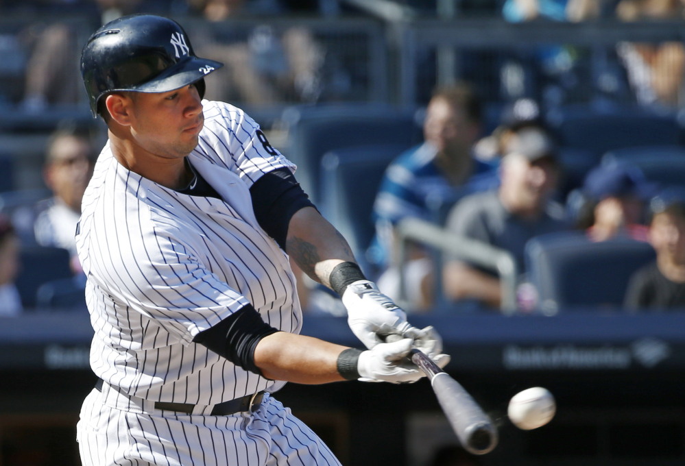 Yankees rookie Gary Sanchez is off to a sizzling start, batting .389 with 11 homers in 24 games to snag the starting catcher job from Brian McCann and help propel the Yankees into the AL wild-card race.