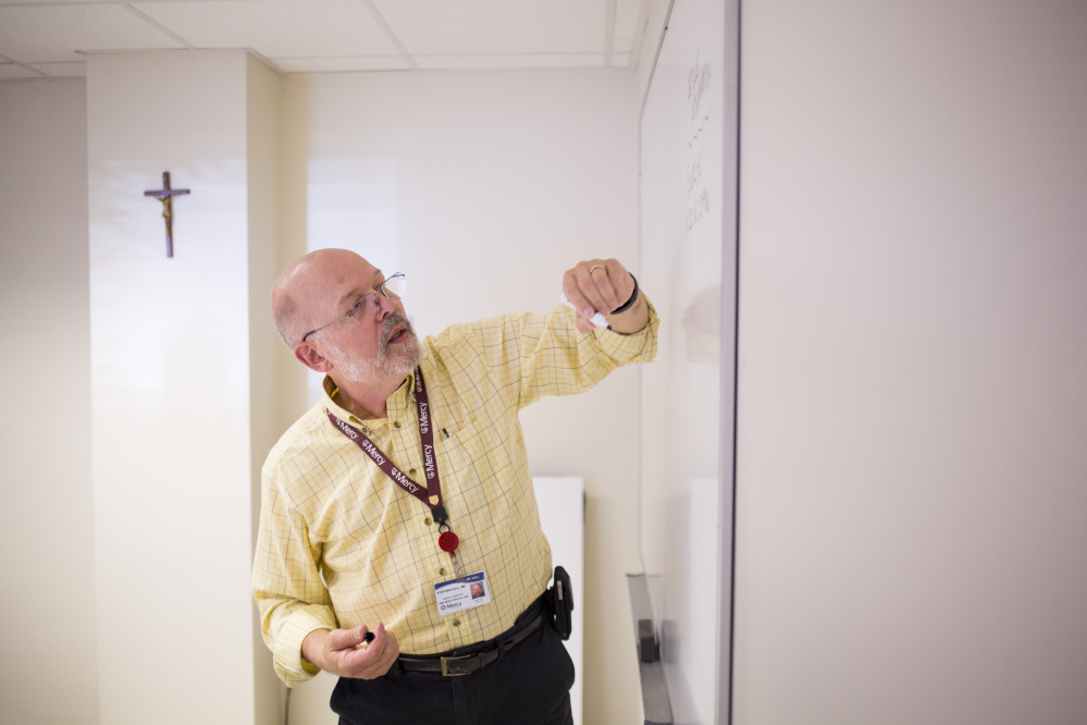 Dr. Stephen Hull leads the program for alleviating and living with chronic pain at Mercy Hospital.