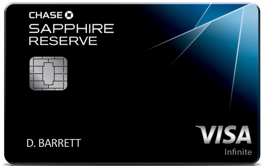 JPMorgan Chase's newest credit card, the Chase Sapphire Reserve Card.