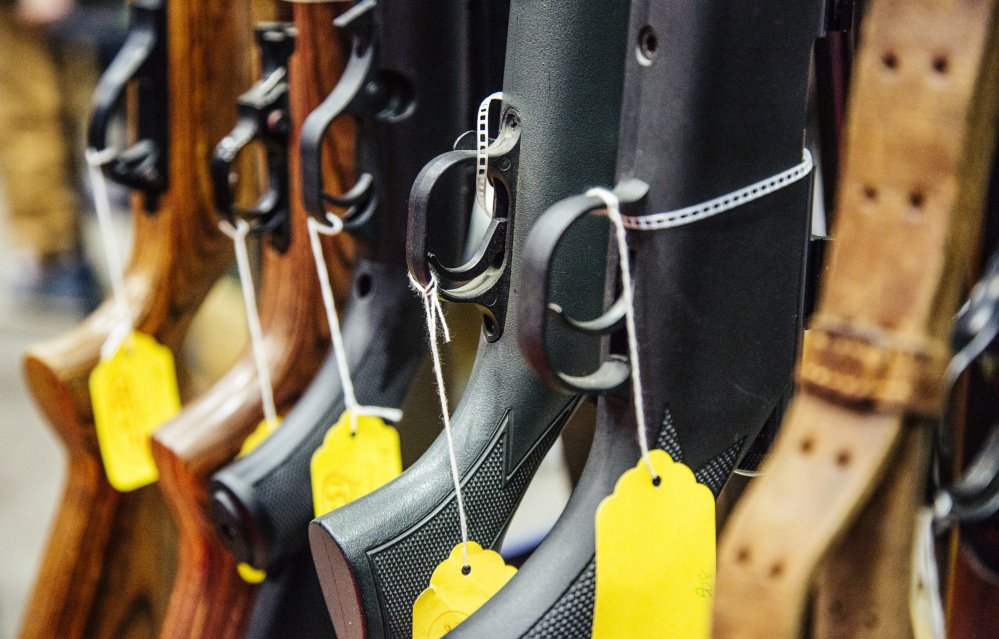 The buyer of a gun sold by a licensed dealer has to first clear an instant background check – but someone who failed the test could go buy the same weapon through a private sale.