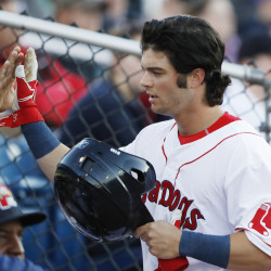 Andrew Benintendi started the season with Class A Salem and eventually worked his way through Portland to become the everyday left fielder for the Red Sox.