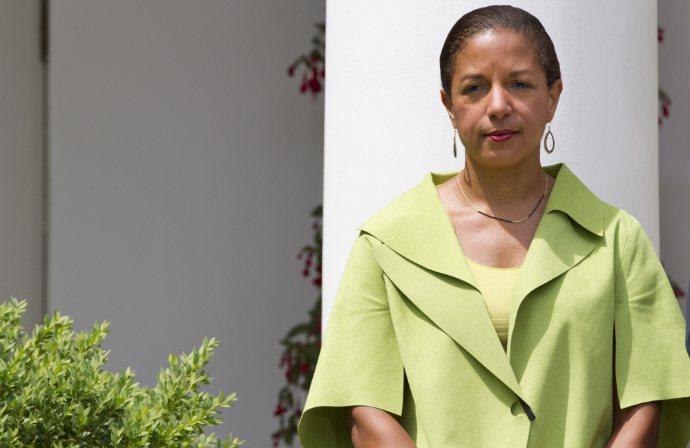 National Security Adviser Susan E. Rice also served in other jobs in the Obama administration. She said in previous positions she sometimes had to push to get into key meetings.
