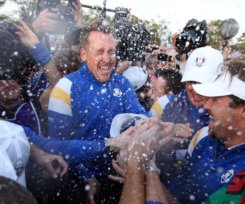 Ian Poulter, one of Europe's most successful players at the Ryder Cup, is serving as a vice captain for this year's competition and has been tasked with the job of mentoring the team's six Ryder Cup rookies.