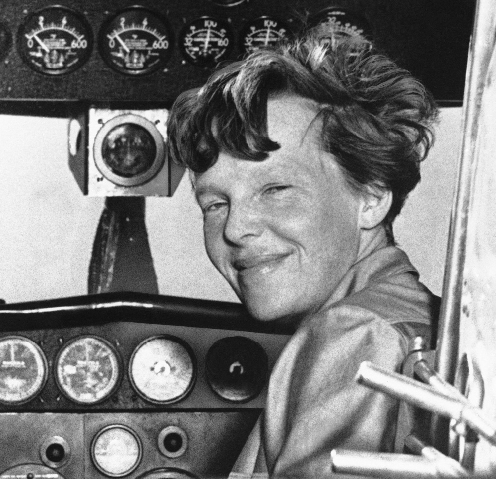 Amelia Earhart poses in this undated photo. lkjfs lkajfljasfd ;lk;l'k