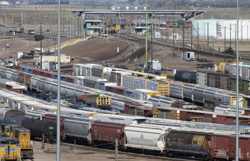 A rise in positive drug tests of railroad workers led federal regulators to call the heads of all U.S. freight and passenger rail lines to Washington this month to discuss safety measures. Associated Press/David Zalubowski