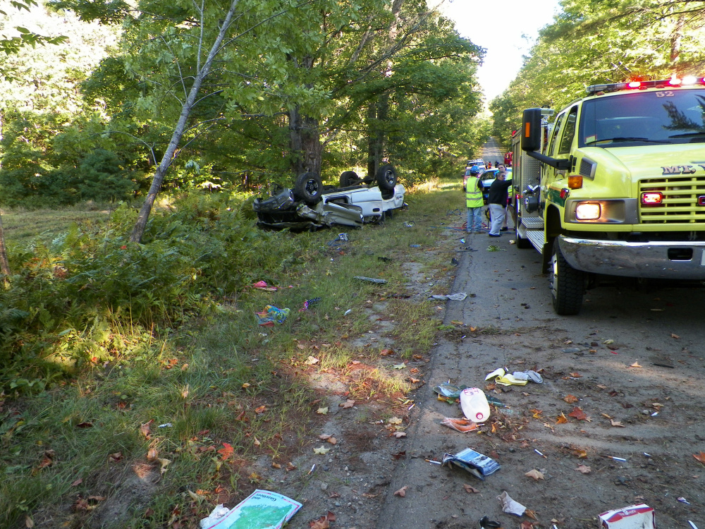 A woman was killed and her daughter, 3, was injured when a pickup truck crashed in Vienna on Wednesday.