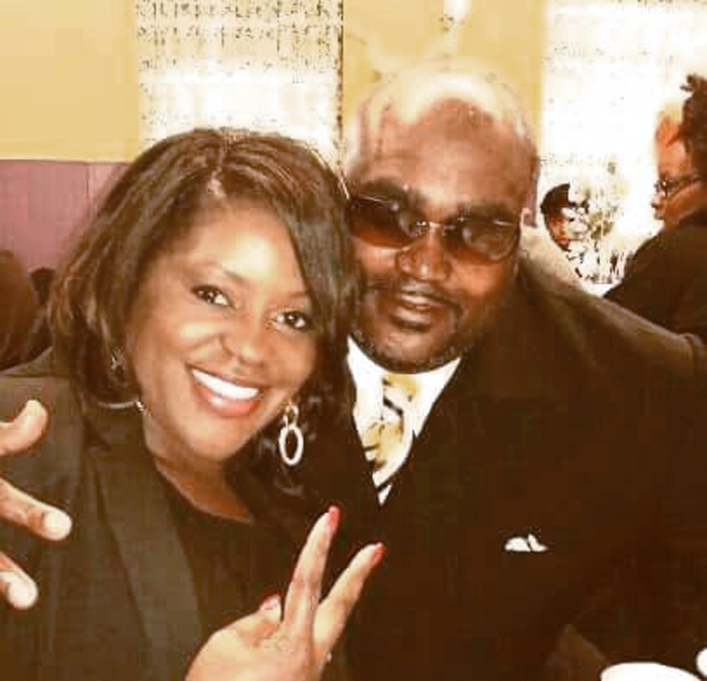 Terence Crutcher, shown with his twin sister, Tiffany, was unarmed when he was killed Sept. 16 by a white Oklahoma police officer who was responding to a stalled vehicle.