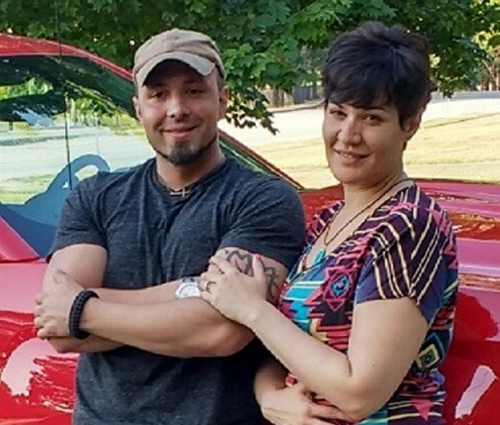 Valerie Tieman died from two gunshots to the head, according to a court document. Her husband, Luc, left, has been charged with murder.