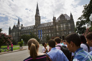 Georgetown University will give preference in admissions to the descendants of slaves owned by the Maryland Jesuits who profited from the sale of enslaved people, Jacquelyn Martin/Associated Press