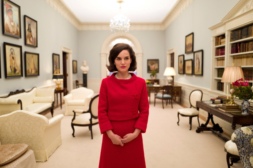 Natalie Portman plays Jacqueline Kennedy in the film