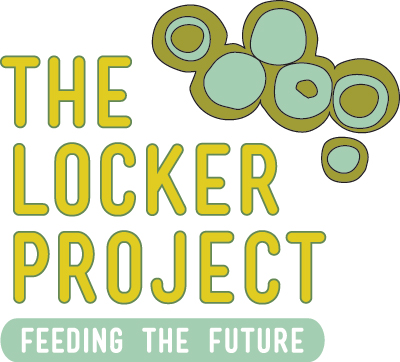 The Locker Project logo was designed by Angela Adams, who is a board member.