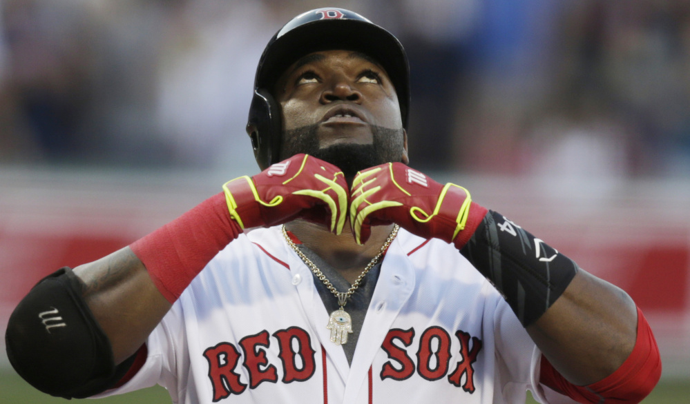 Boston Red Sox designated hitter David Ortiz plays at Fenway Park on July 6.  (Associated Press/Charles Krupa)