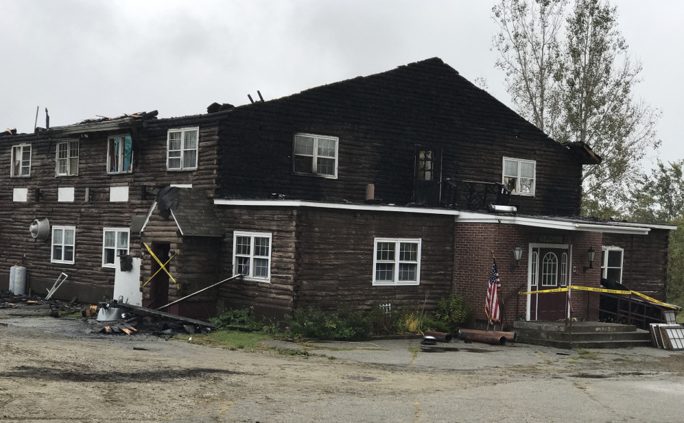 An early morning fire ravaged the attic and roof of the Freedom Center in Dresden, a drug and mental health recovery center that housed 13 clients. All 11 of the people who were at the residence escaped uninjured.