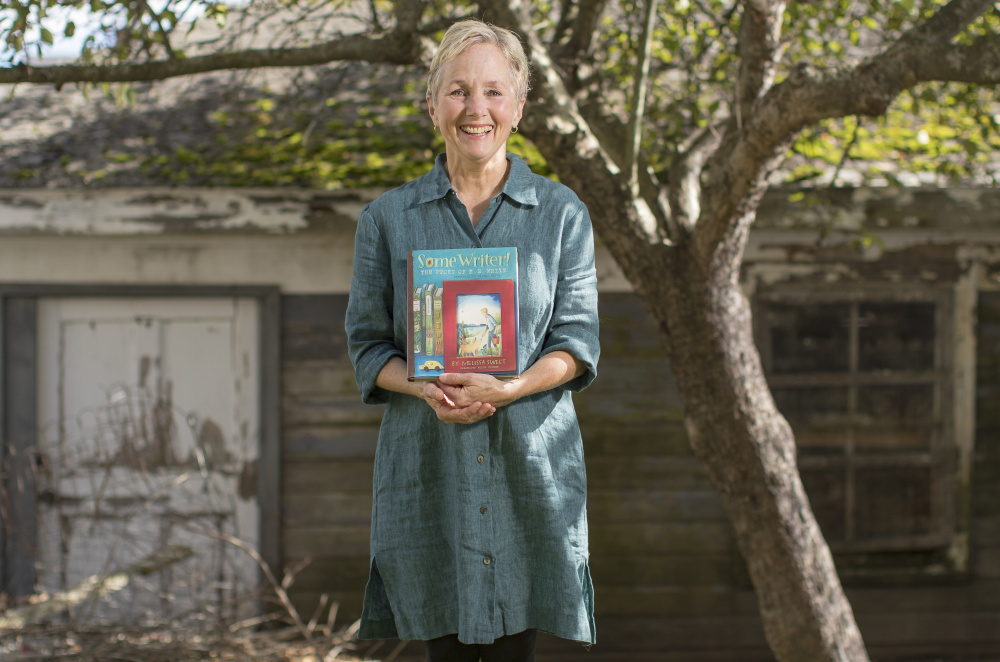 Once Melissa Sweet began to understand E.B White, the boy, she said,