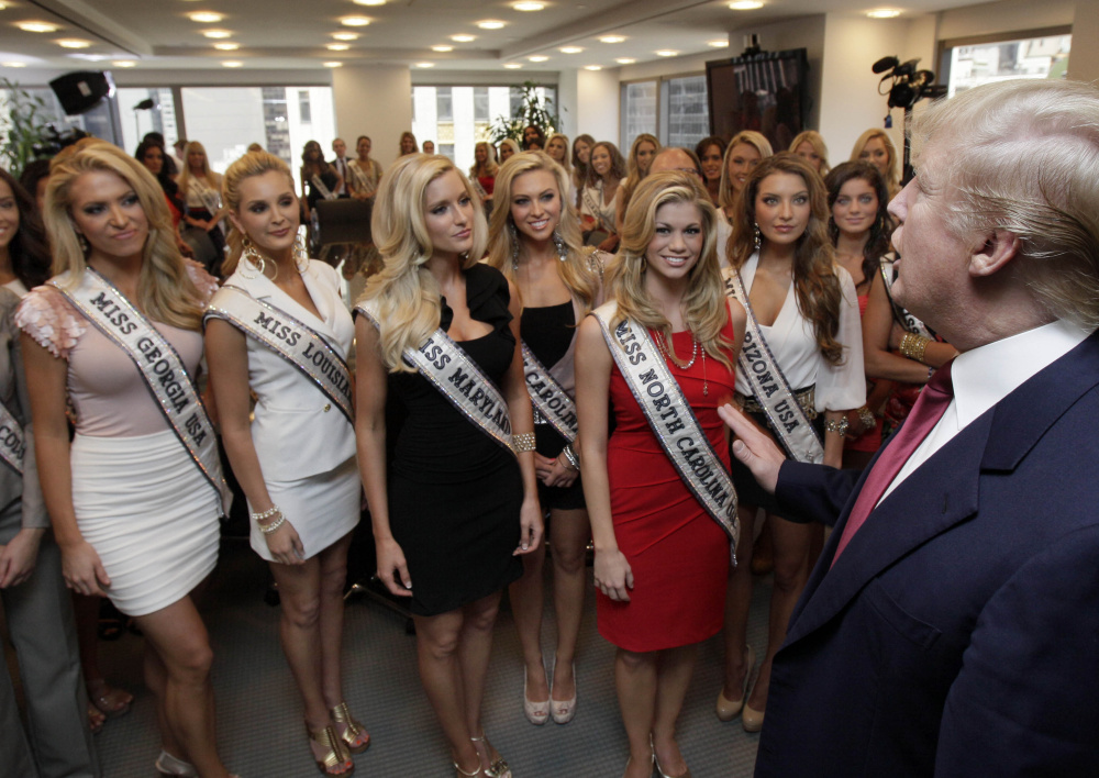 Trump Walked In On Miss Teen USA Contestants While They