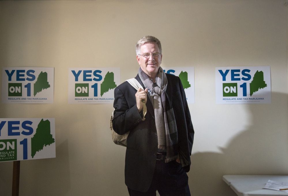 Travel guru and television personality Rick Steves is visiting Maine this week to lend support to the Yes on 1 campaign.