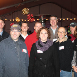 The Scarborough Education Foundation board, from left, David Strouse, Bryan Shumway, Jack Murphy, Joe Ingream, Betsy Chalmers, Jeff Ertman, Chris Brownsey, Will Leadley and Andrea Fravert.