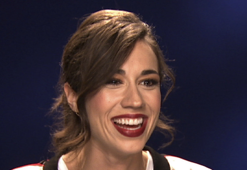 """I got a lot of hate mail and that's where the term 'haters back off' came from,"" Colleen Ballinger says."