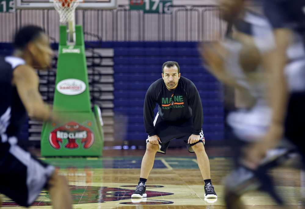 Scott Morrison is back as the head coach of the Maine Red Claws with the dual goals of continuing to help players improve their career prospects, and preparing the team – or what usually remains of it by the end of the regular season – to compete for the D-League championship.