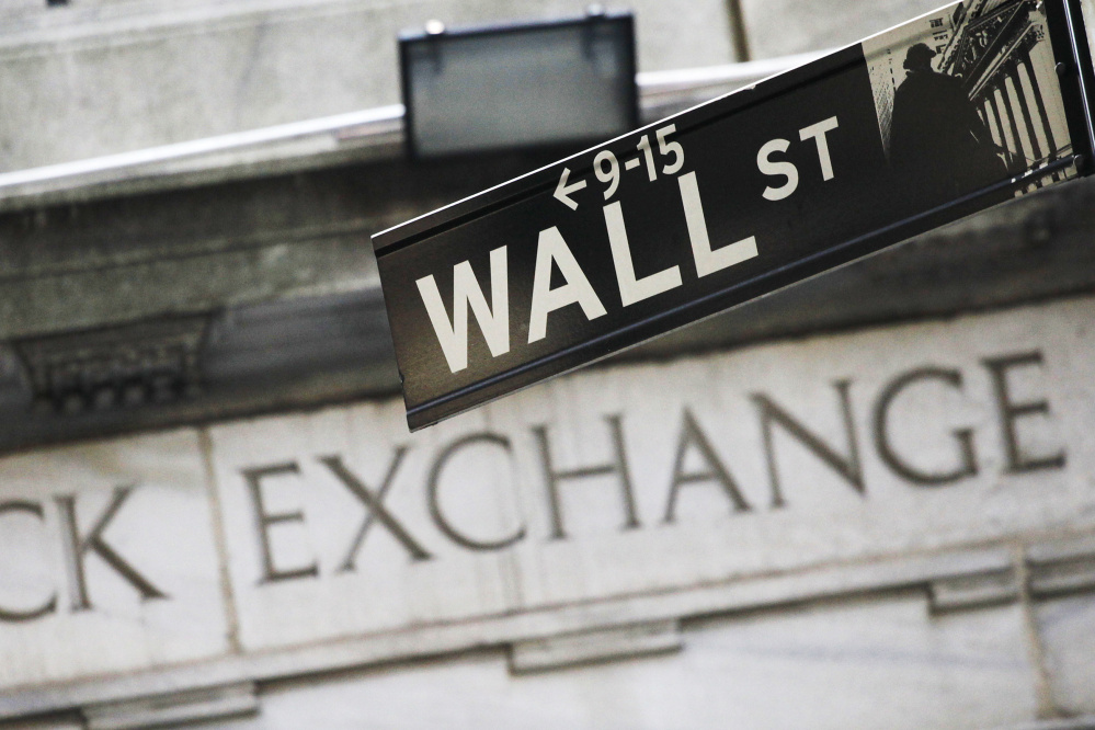 U.S. stocks on Wall Street are down with only two market days left until the polls open on Election Day.
