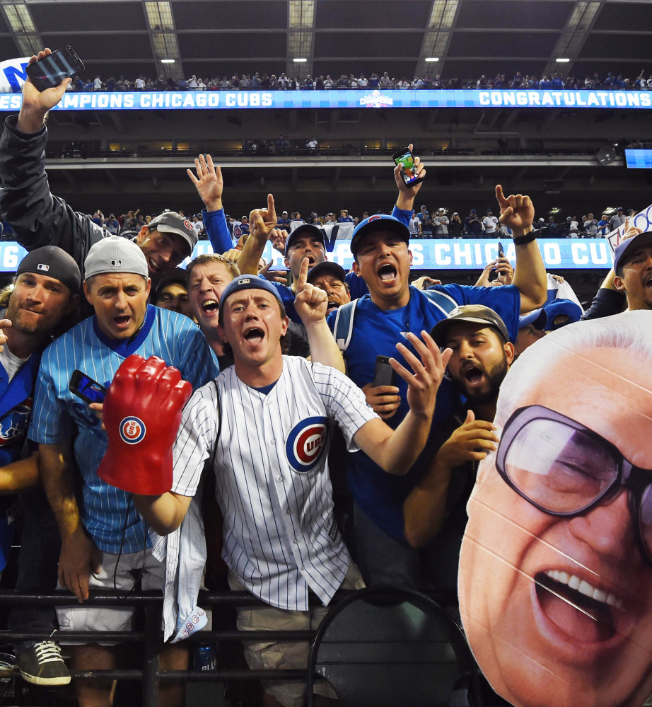 Oh, how they waited. And if the celebration for Chicago Cubs fans had to be someplace other than Wrigley Field, so be it. Right after the World Series ended, the party began in Cleveland.