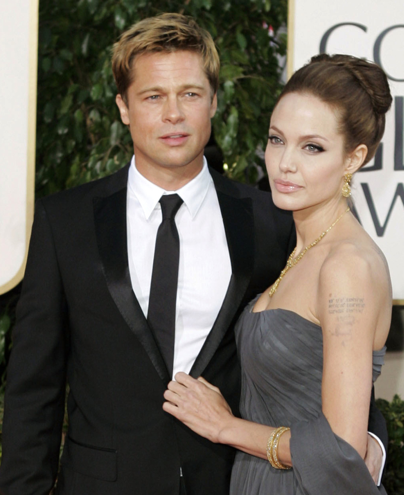 Brad Pitt and Angelina Jolie are divorcing after being married in 2014.