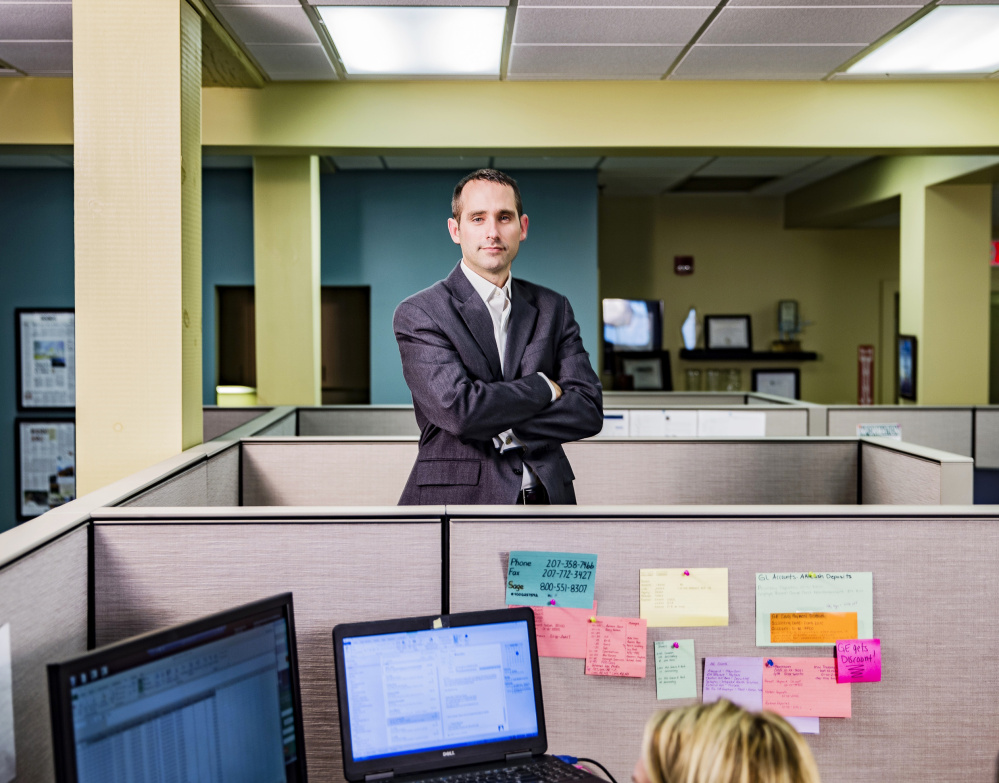 Joshua Broder, CEO of Tilson Technologies, say veterans recognize the value of working with a team.