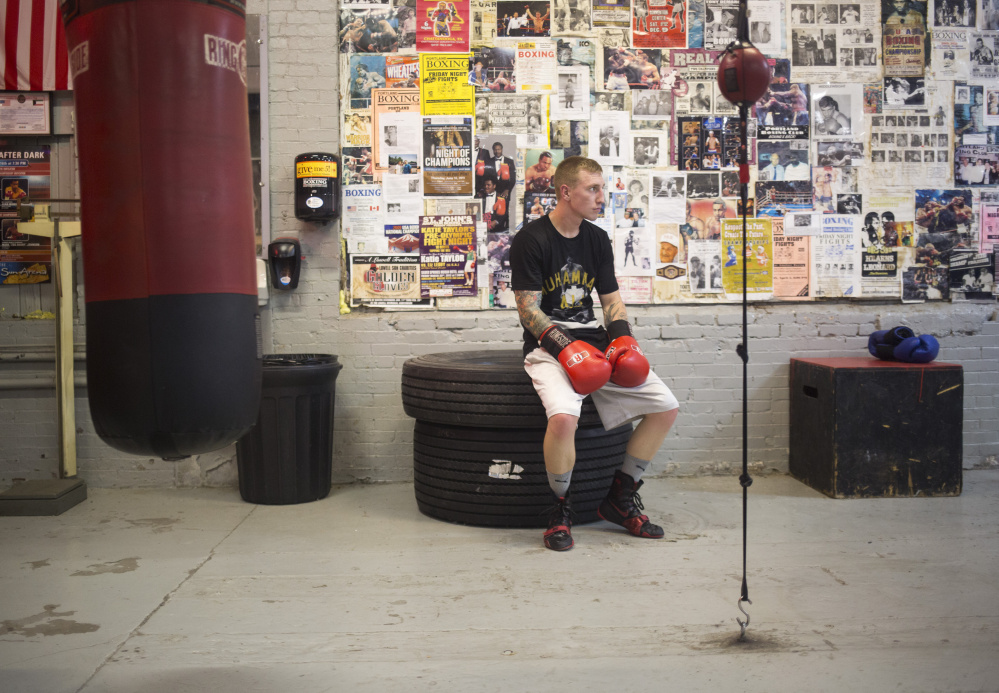 Casey Kramlich, a 25-year-old from Raymond, knew from the time he laid eyes on the first Rocky movie at age 11 that he wanted to be a boxer. Basketball? Fun but no. Football? Fun but no. Boxing came first and still does, with the dream of someday making it to the top.