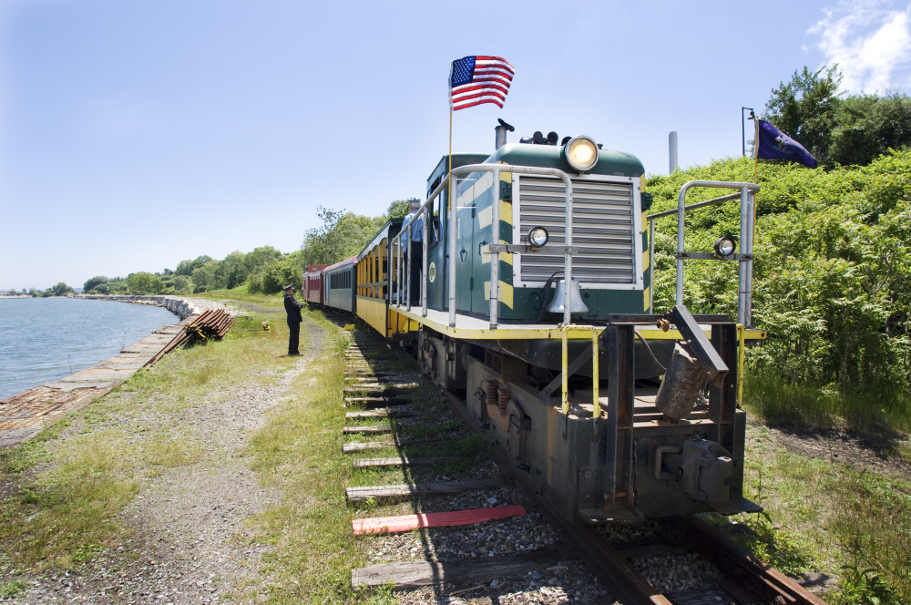 The Maine Narrow Gauge Railroad is planning to move from Portland to Gray. Gray voters on Tuesday defeated a ballot proposal to give the group nearly $500,000.