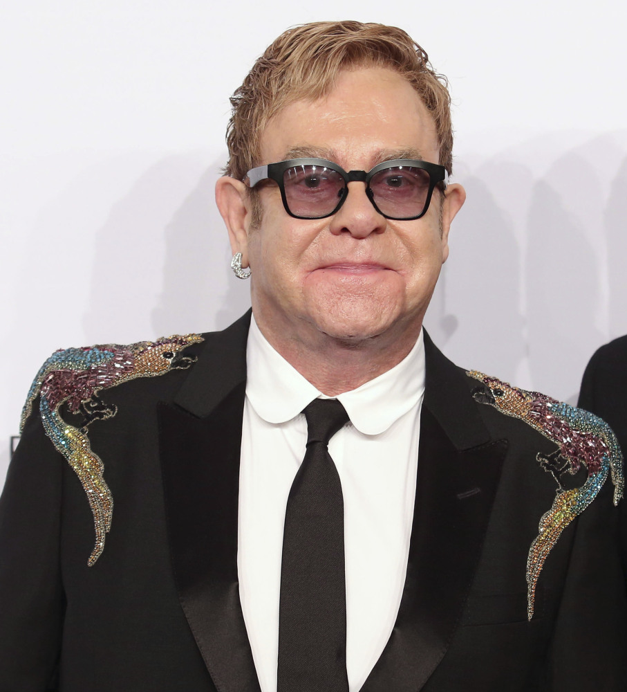Elton John says he replaced alcohol with