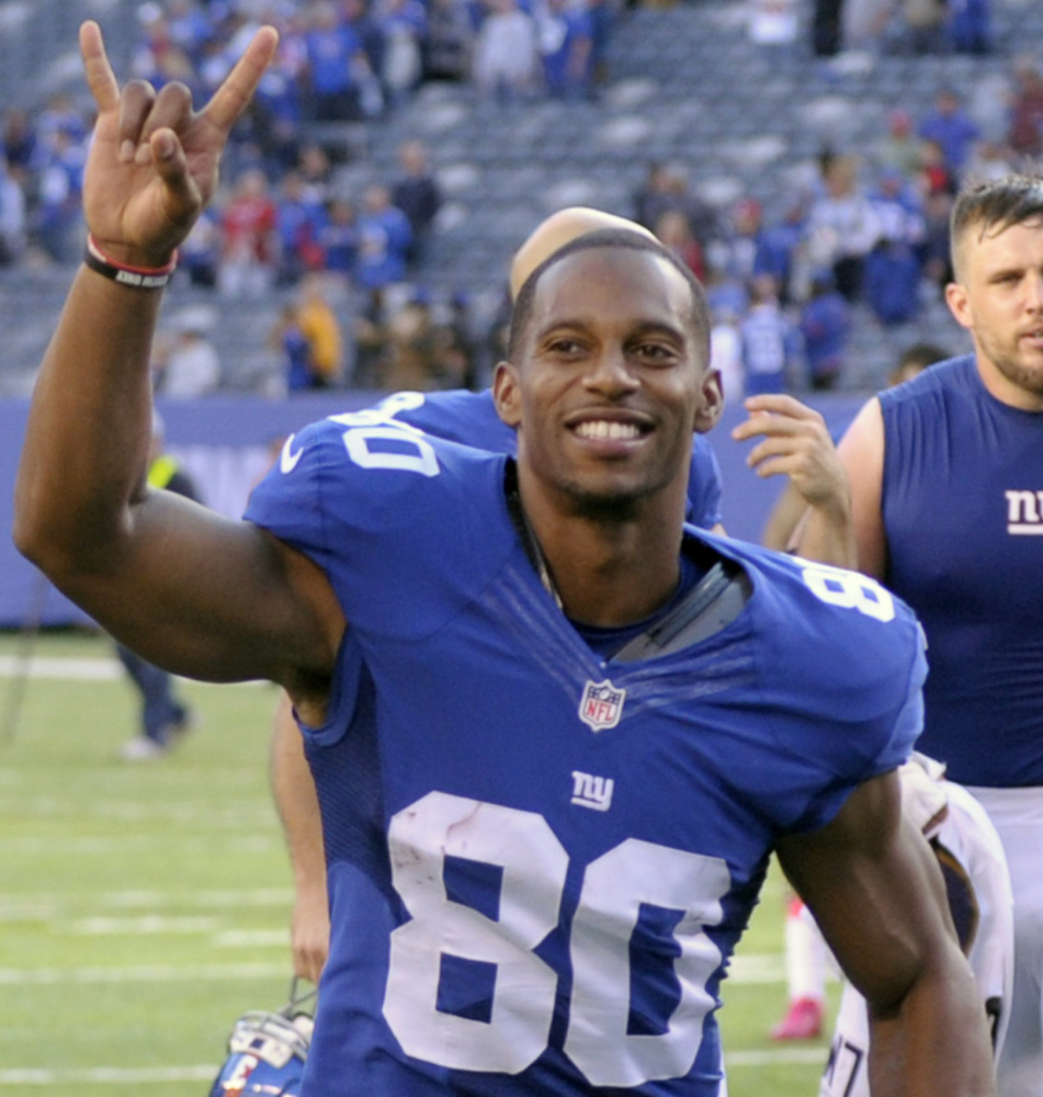 Wide receiver Victor Cruz of the New York Giants said he'd be happy if he never had to have another MRI.