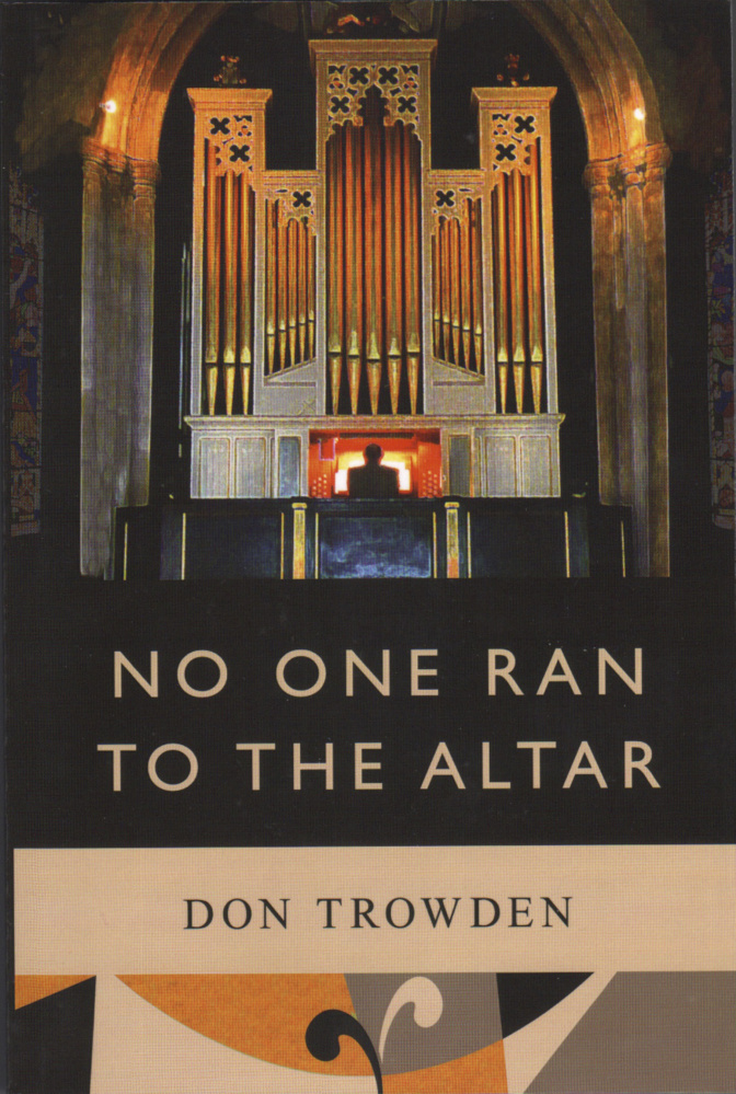 The paperback cover of Caleb Mason's No One Ran To The Alter