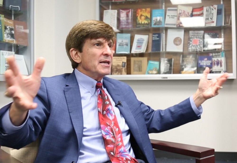 Professor Allan Lichtman was one of the few prognosticators to predict a Donald Trump win. He now believes Trump will be impeached by his own party because he is too unpredictable.