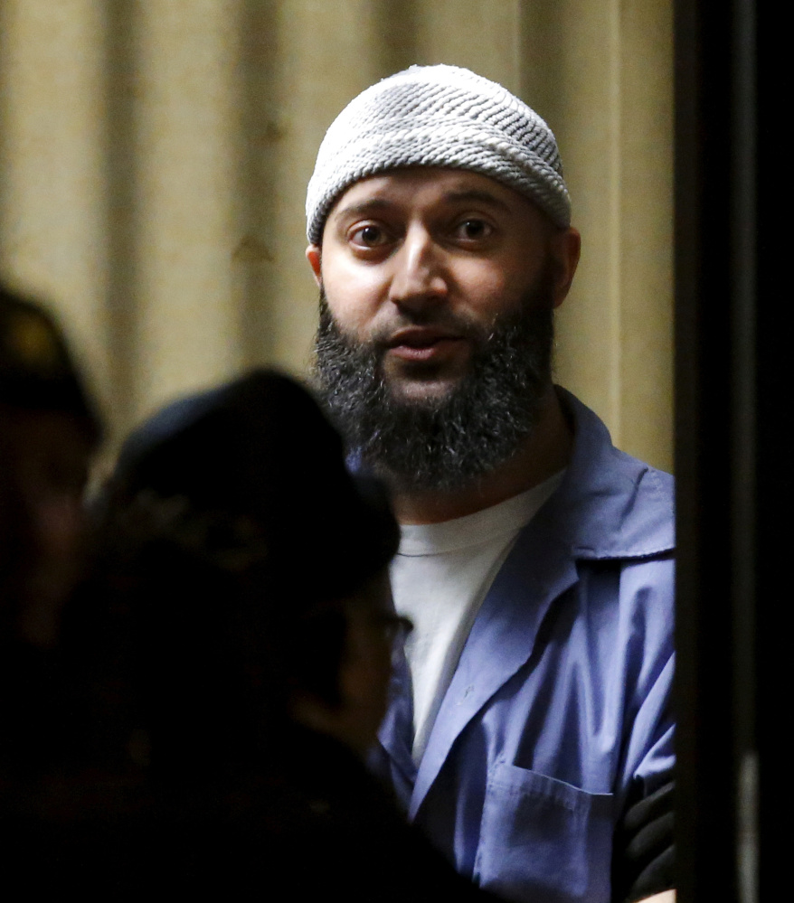 Adnan Syed, who was convicted in a 2000 murder, has been the focus of the popular