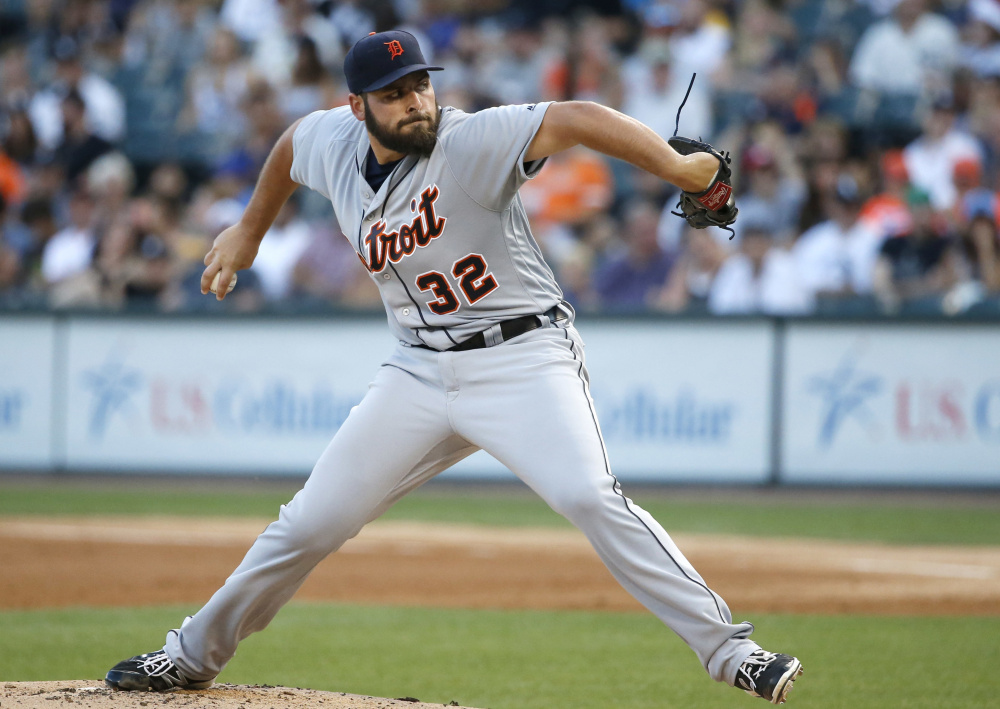 Michael Fulmer is on his way to becoming the ace pitcher of the Detroit Tigers after a rookie season that included an 11-7 record and 3.06 ERA. Tuesday he was named the American League rookie of the year.
