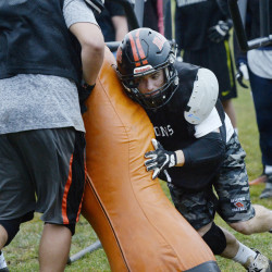 Brunswick linebacker Jesse Devereaux may be just 5-foot-7, 160 pounds, but he's used his mind as much as his physique in helping the Dragons reach the Class B state championship game for the third straight season.