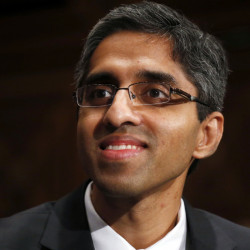 "A new report by U.S. Surgeon General Vivek Murthy calls for a major cultural shift in the way Americans view drug and alcohol addiction. The report, ""Facing Addiction in America,"" details the toll addiction takes on the nation and explains how brain science offers hope for recovery. Associated Press/Charles Dharapak"