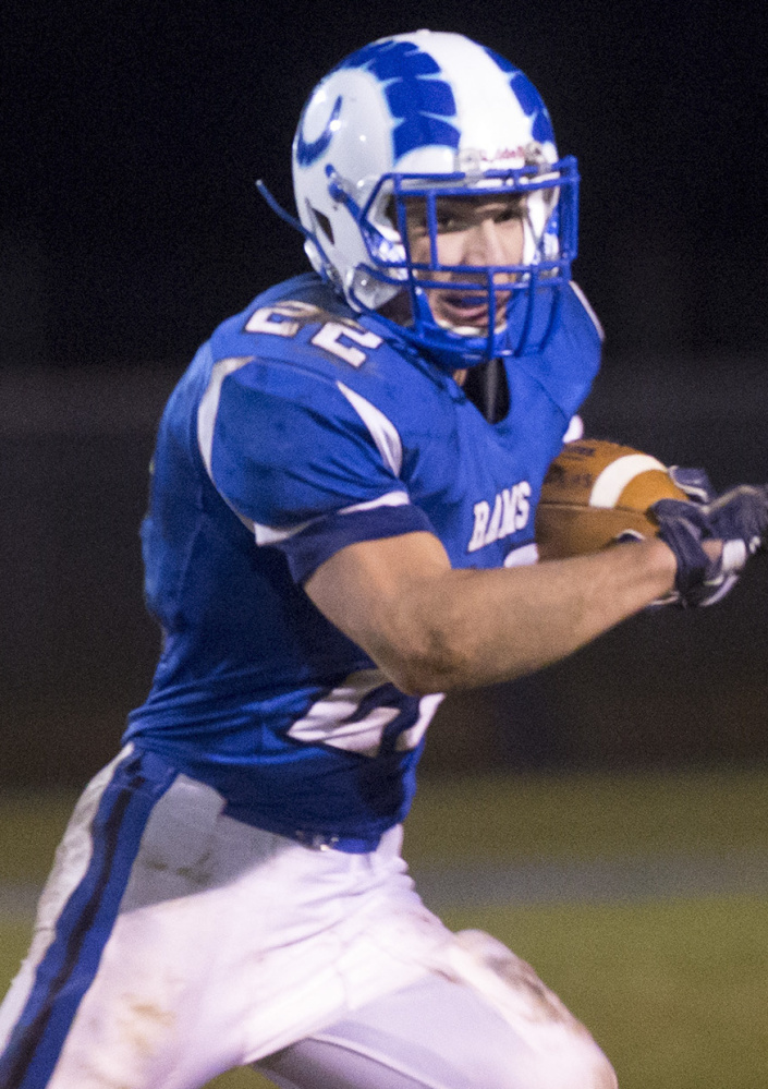 Jake Littlefield, who ran for 1,209 yards this year, will be counted on for Kennebunk in the Class B state final.