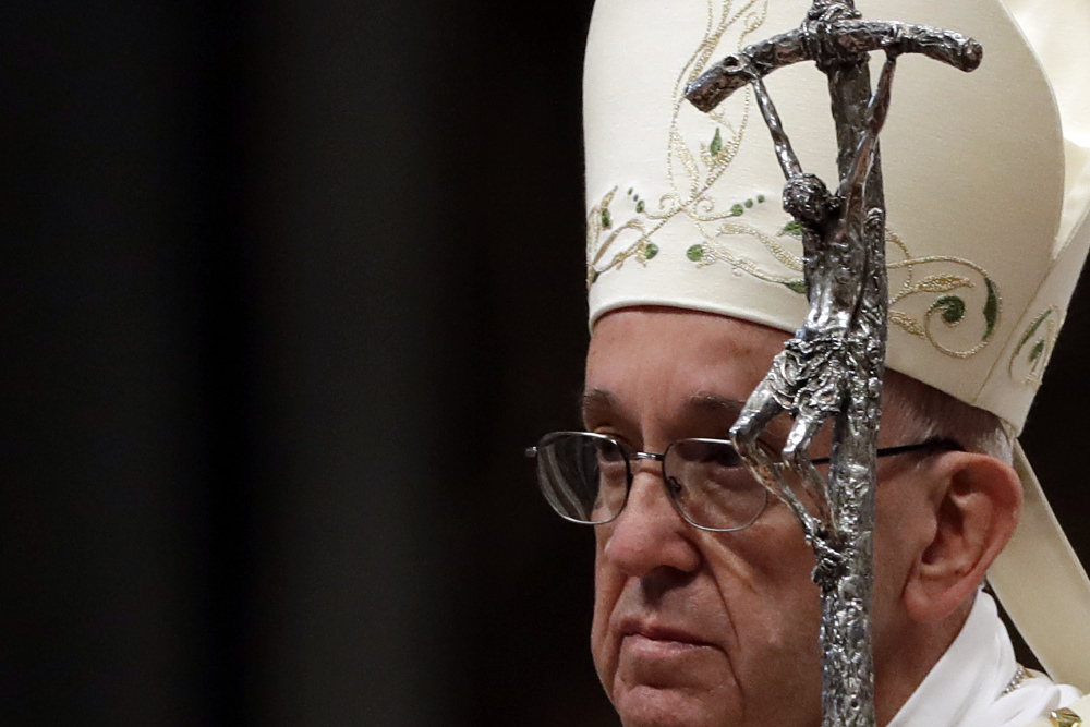 Pope Francis has called on the U.S. church to heal a society facing