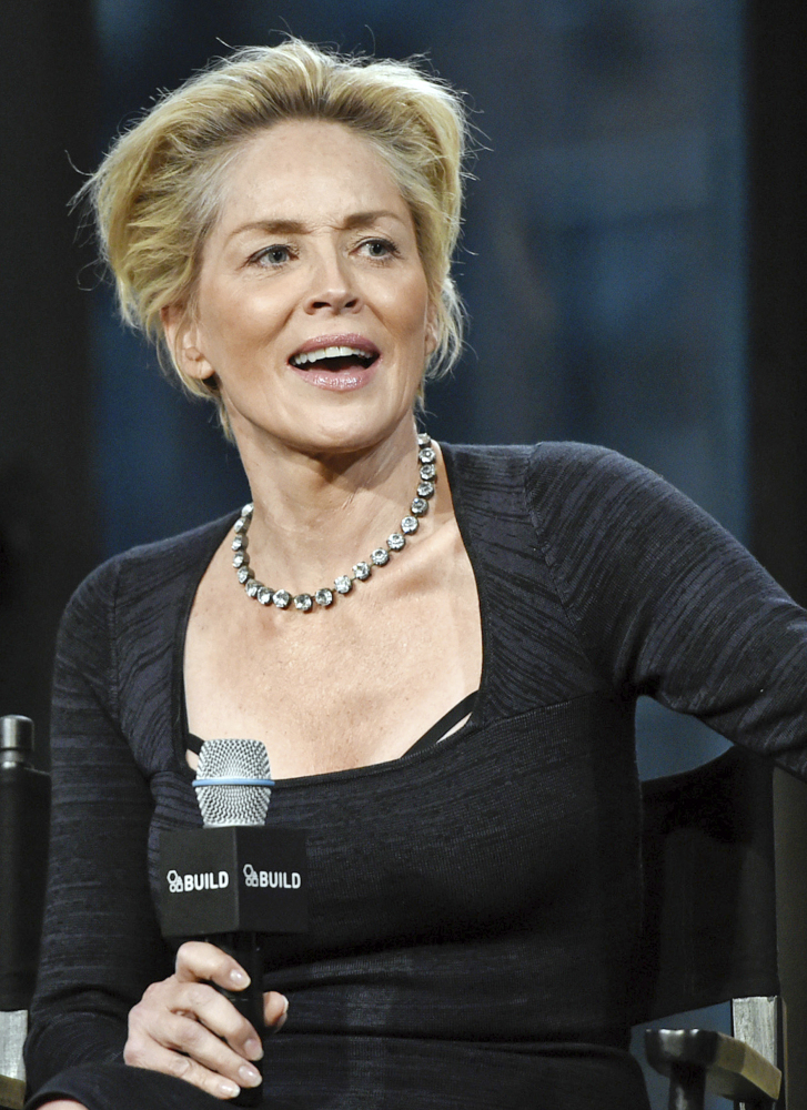 Actress Sharon Stone is speaking out on the issue of sexual assault on college campuses.