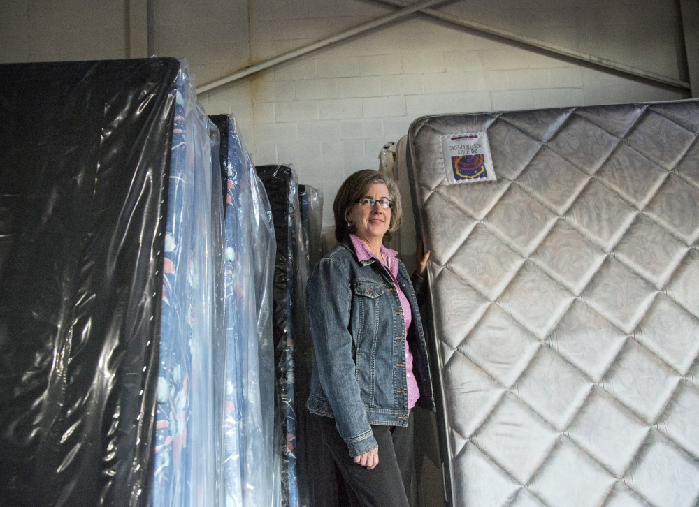 Jenn McAdoo is executive director of Furniture Friends, a Portland nonprofit organization with roughly 200 volunteers that supplies furniture to people in need.