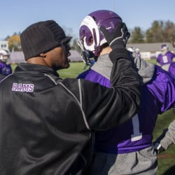 Deering Coach Jason Jackson has seen a 38-player roster, excluding freshmen, dwindle to between 25 and 30 for the annual Thanksgiving Day game Thursday against Portland at Fitzpatrick Stadium. Those who have remained will get a chance to defeat a team that reached the Class A state championship game last weekend.