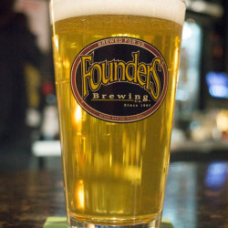 YARMOUTH, ME - NOVEMBER 21: A Founders PC Pilsner draft beer served at Dirigo Public House in Yarmouth. (Photo by Carl D. Walsh/Staff Photographer)