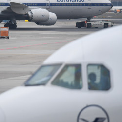 Friday's Lufthansa flight cancellations affected 100,000 passengers, with Saturday's to affect 30,000 more.