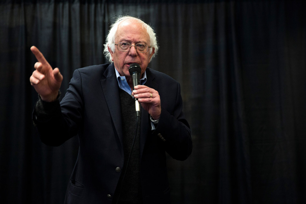 Sanders urges party to go beyond comfort zone