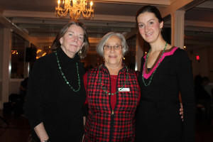 York County Community Action Corp. Executive Director Barbara Crider, board president Claudette Dupre and volunteer coordinator Ericka Sanborn. YCCAC held a Gaelic gathering to raise money to help serve the elderly.