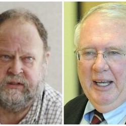Robert Hasson, left, has been nominated to be the acting commissioner of the Maine Department of Education, while Bill Beardsley, right, will continue as deputy commissioner.