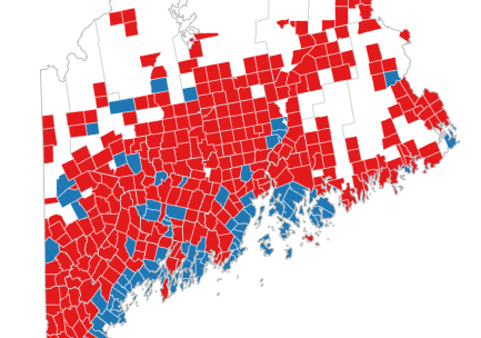 Statewide Maps Of Maine 2016 Election Results